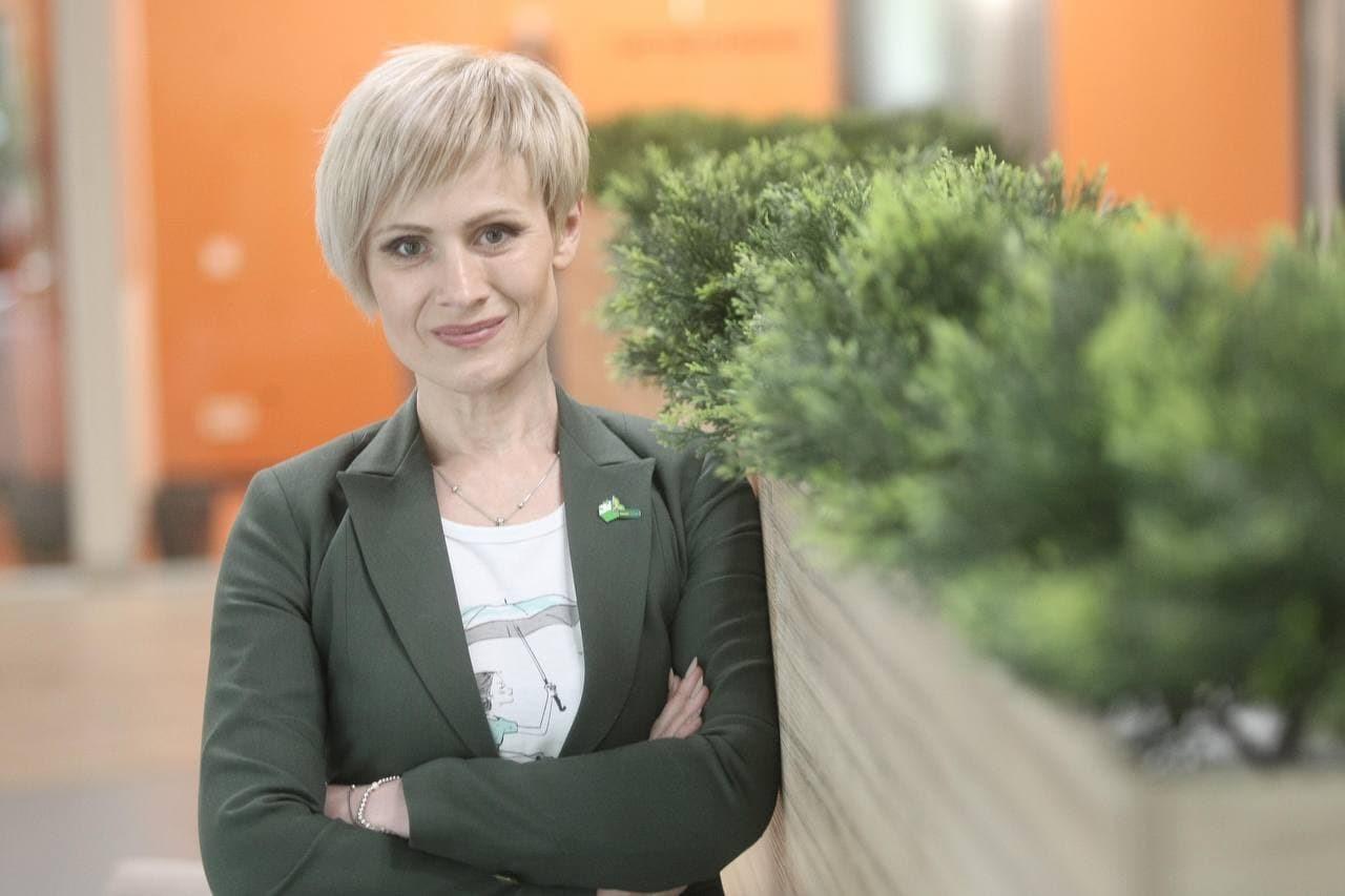 Президентка Професійної асоціації екологів України Людмила Циганок