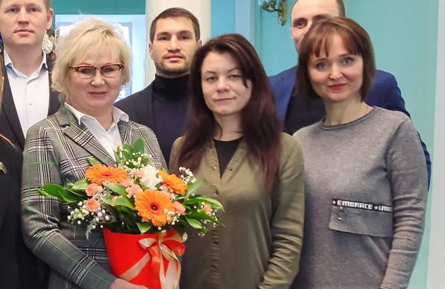Світлана Нестуля, Марина Пілатова та Євгенія Янко