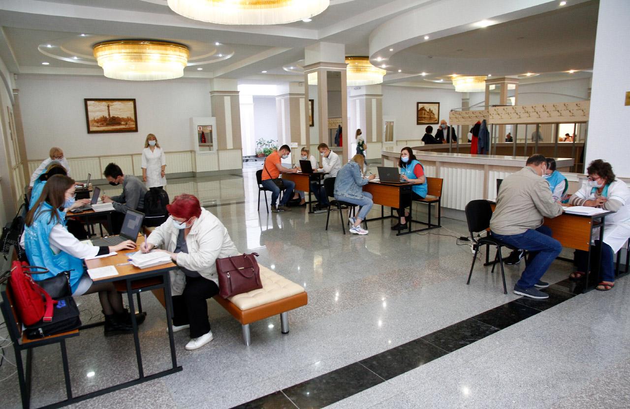 Центр вакцинації на базі Полтавського юридичного інституту