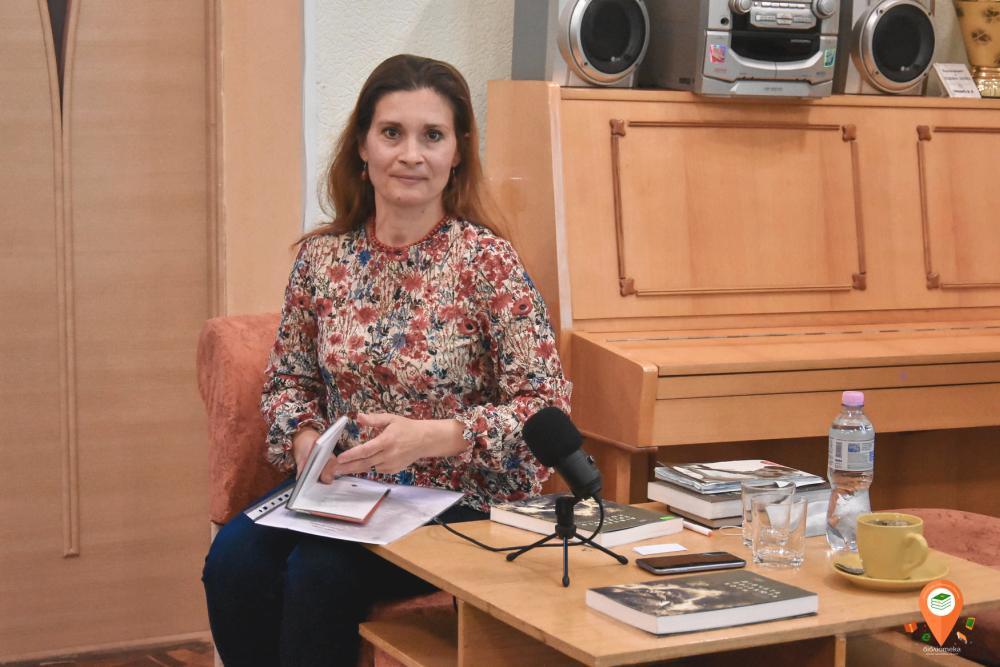 Ведуча зустрічі Вікторія Піскова