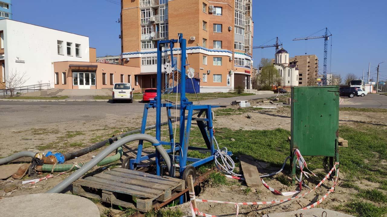 Тимчасова станція перекачки на вулиці Миру, 36