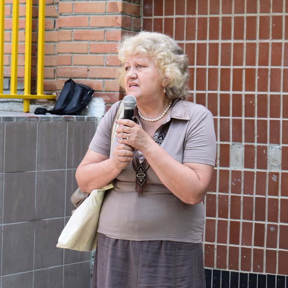 Ірина Бабяк, очільниця обласної організації ОУН