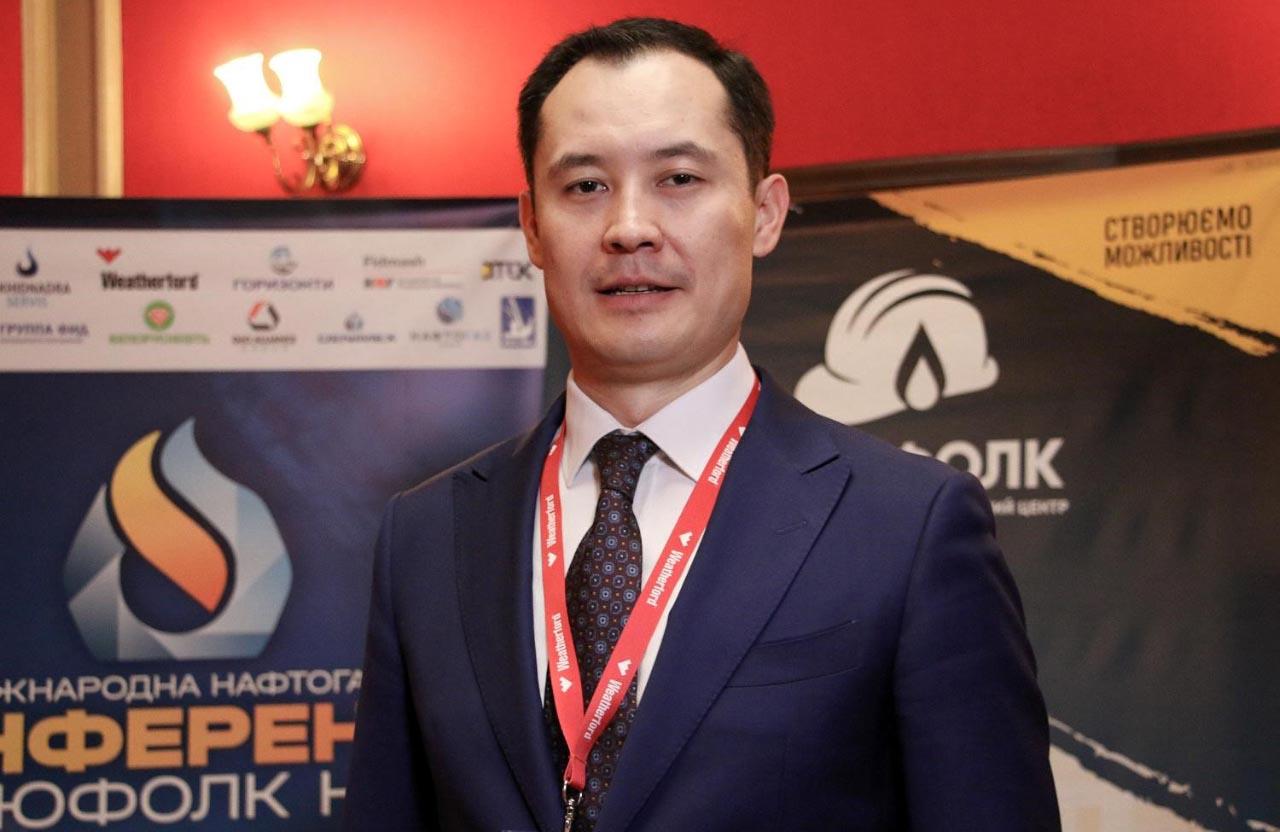 Заступник директора з розвідки та розробки родовищ дивізіону «Нафтогаз Розвідка та Видобування» Санжар Жаркешов