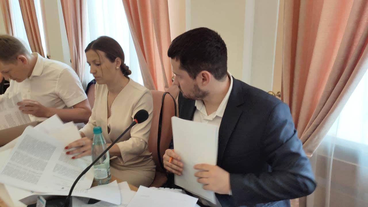 Катерина Бабіч та Вадим Ямщиков