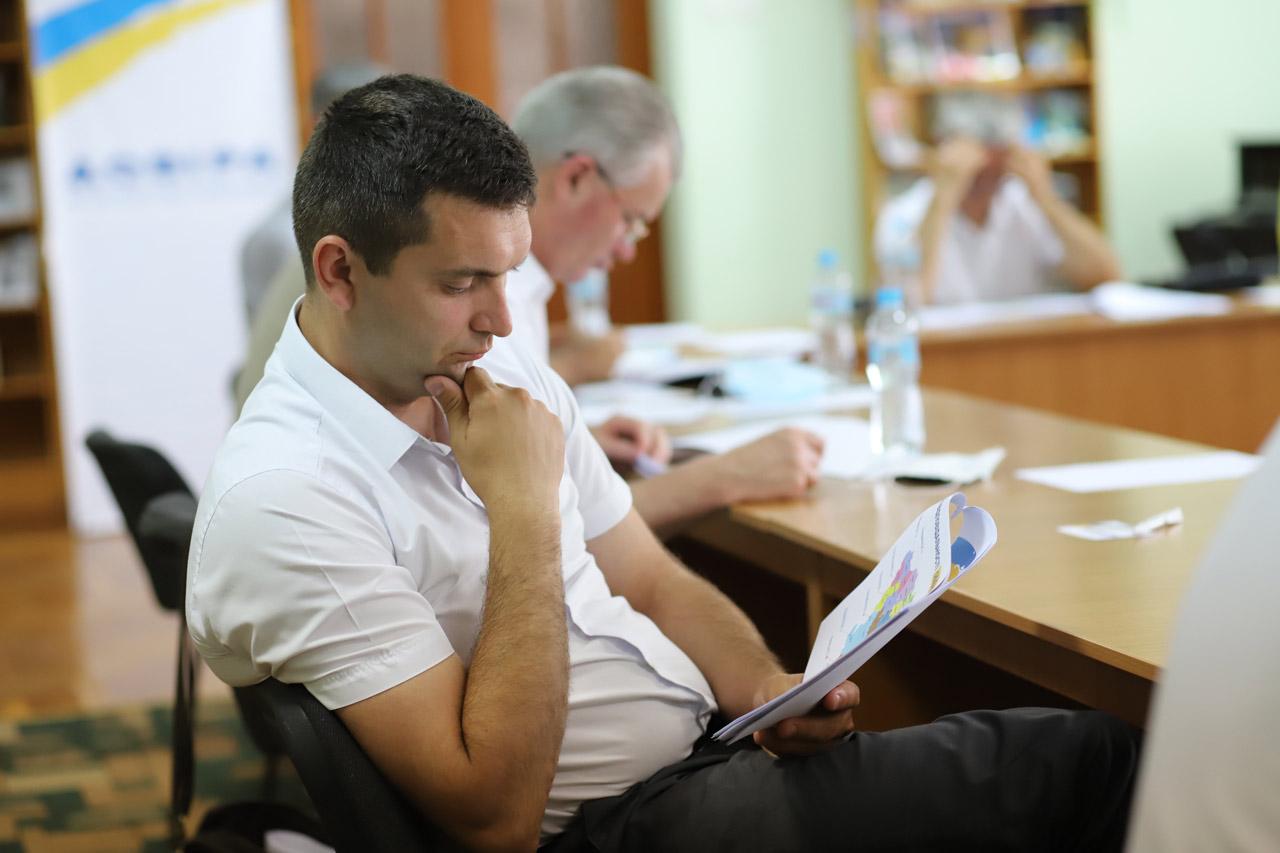 Голова Чорнухинської громади Олександр Василенко