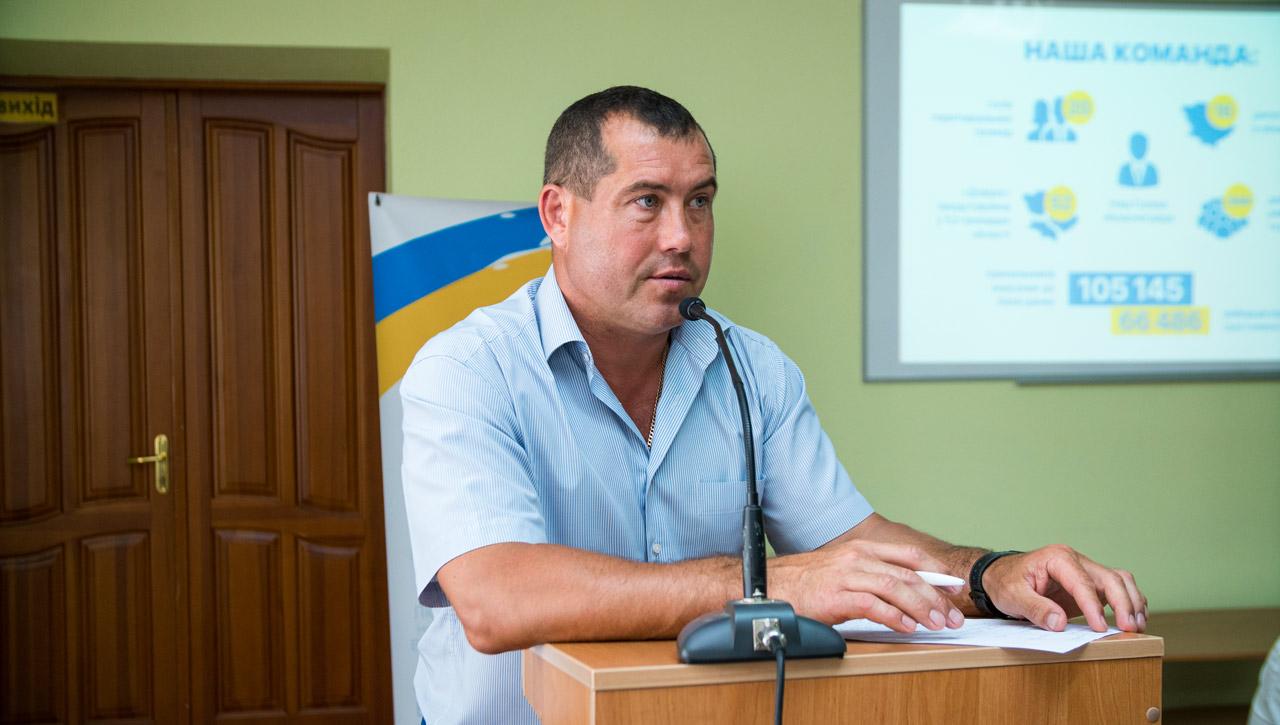 Голова фракції Довіра Олег Діденко