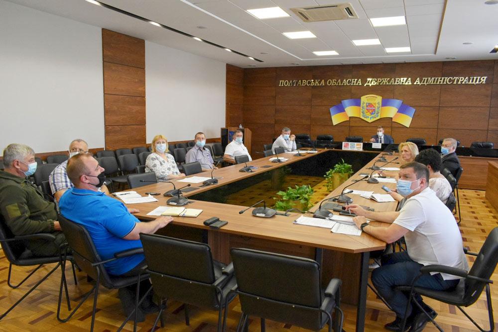 Науковці з Полтавської політехніки та представники ОДА обговорюють Регіональний план поводження з відходами