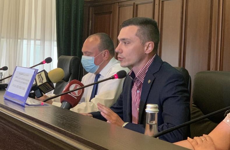 Керівник Полтавської обласної прокуратури Антон Столітній