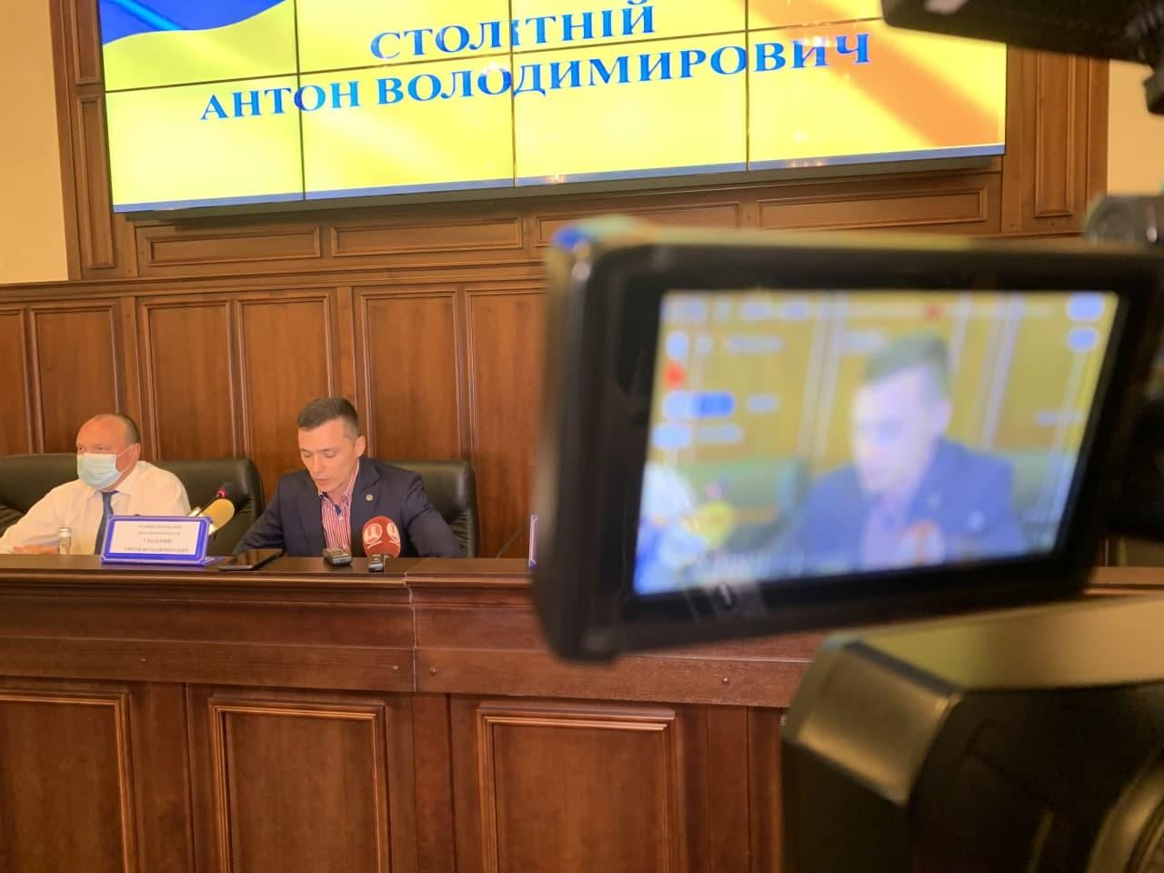 Прокурор Полтавської області Антон Столітній