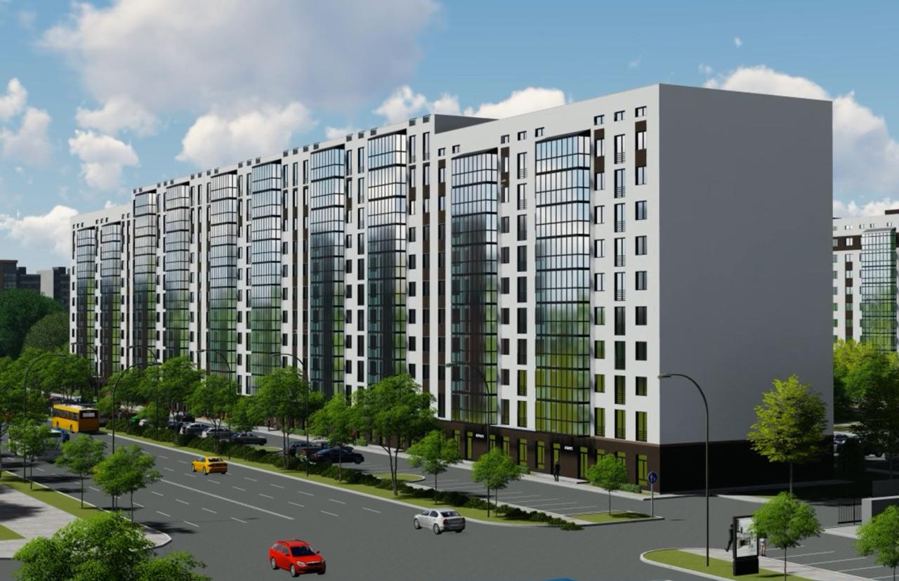 Ескіз будинку на вулиці Зіньківській 6