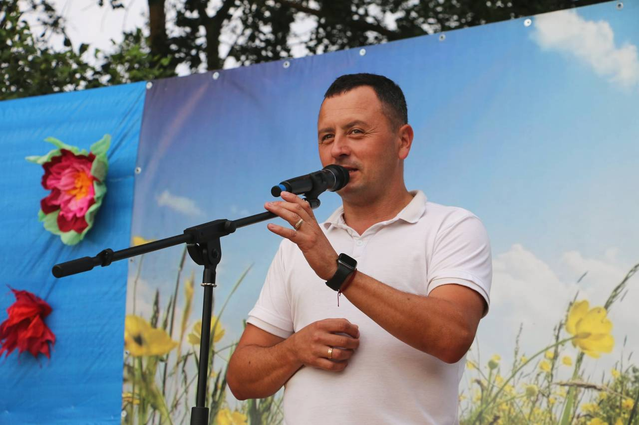 Очільник Коломацької ТГ Євген Почечун