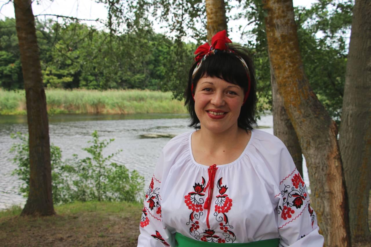 Ольга Німчин, художня керівниця Коломацького БК