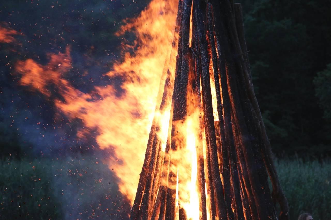 Традиційне вогнище