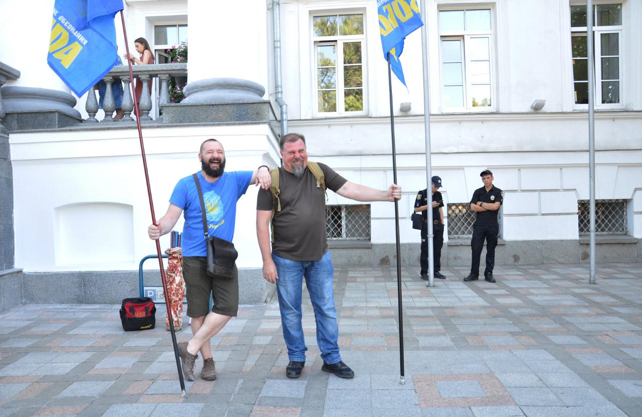«Свободівці» Анатолій Ханко та Тарас Синяговський