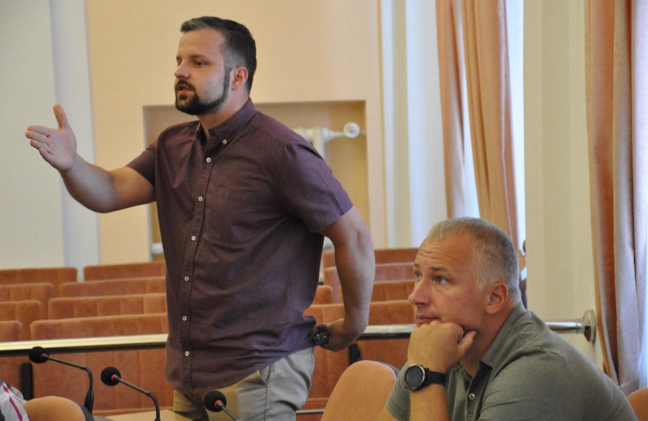 Юліан Матвійчук та Максим Боровков