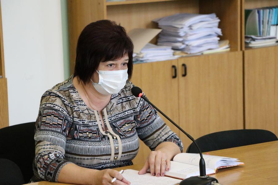 Керівник управління освіти Полтави Оксана Трибрат