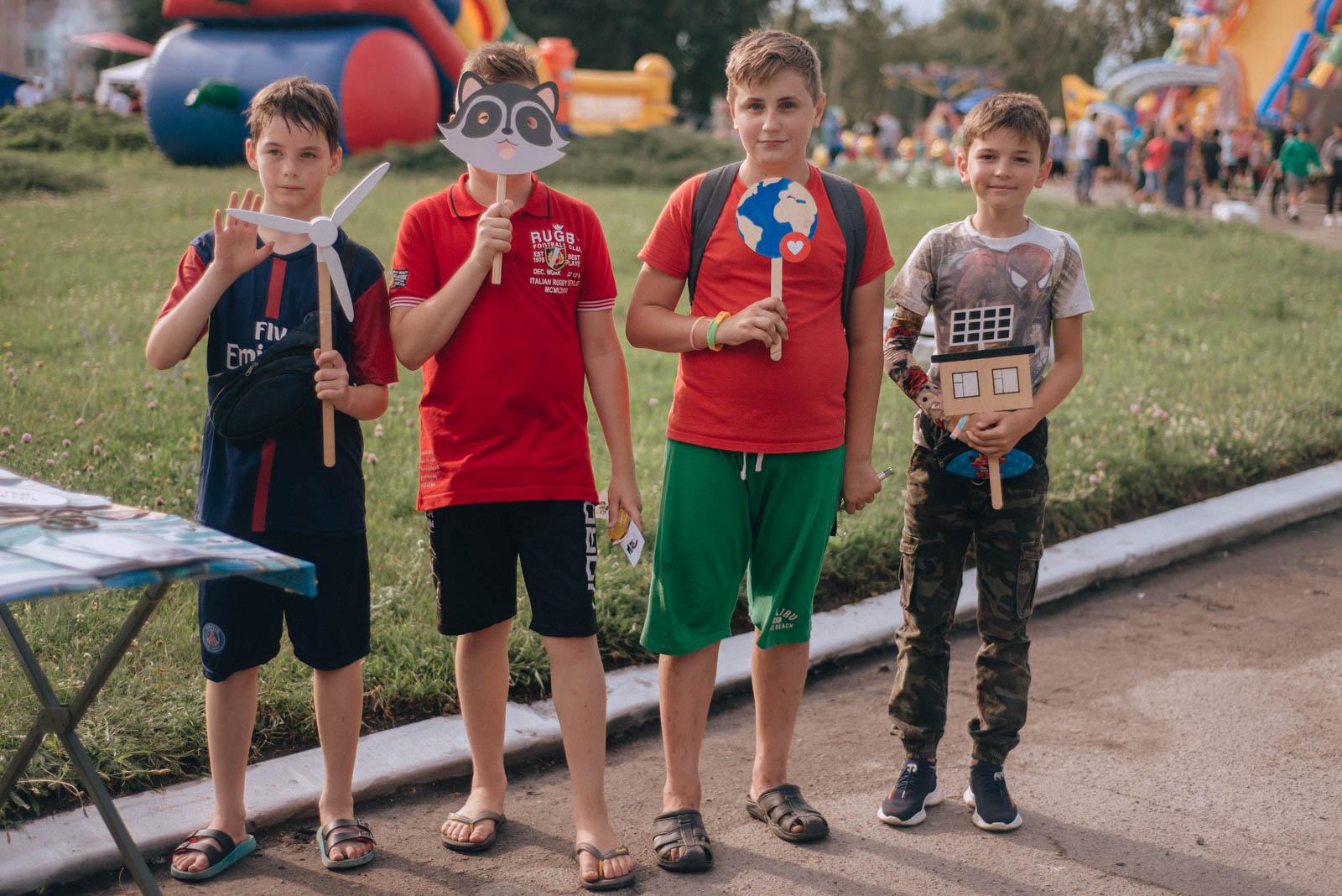Відвідувачі екофестивалю у Новооржицькому