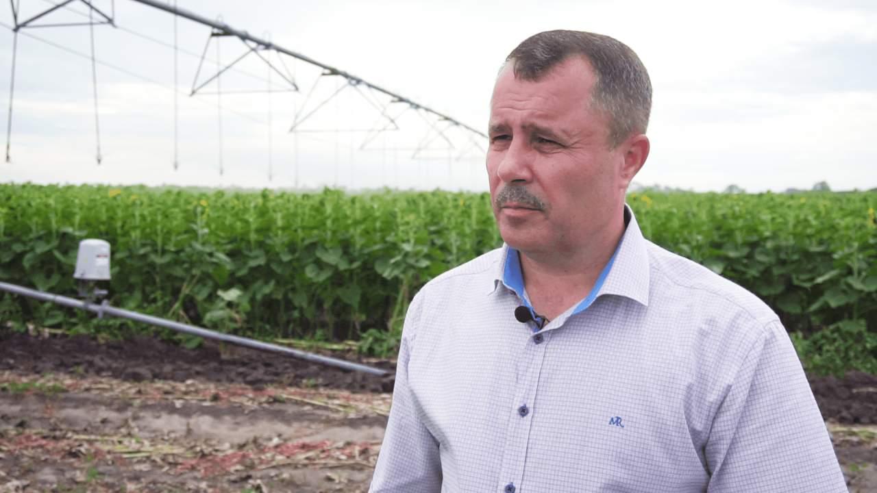 Директор агрофірми «Полтавазернопродукт» Олександр Колодяжний