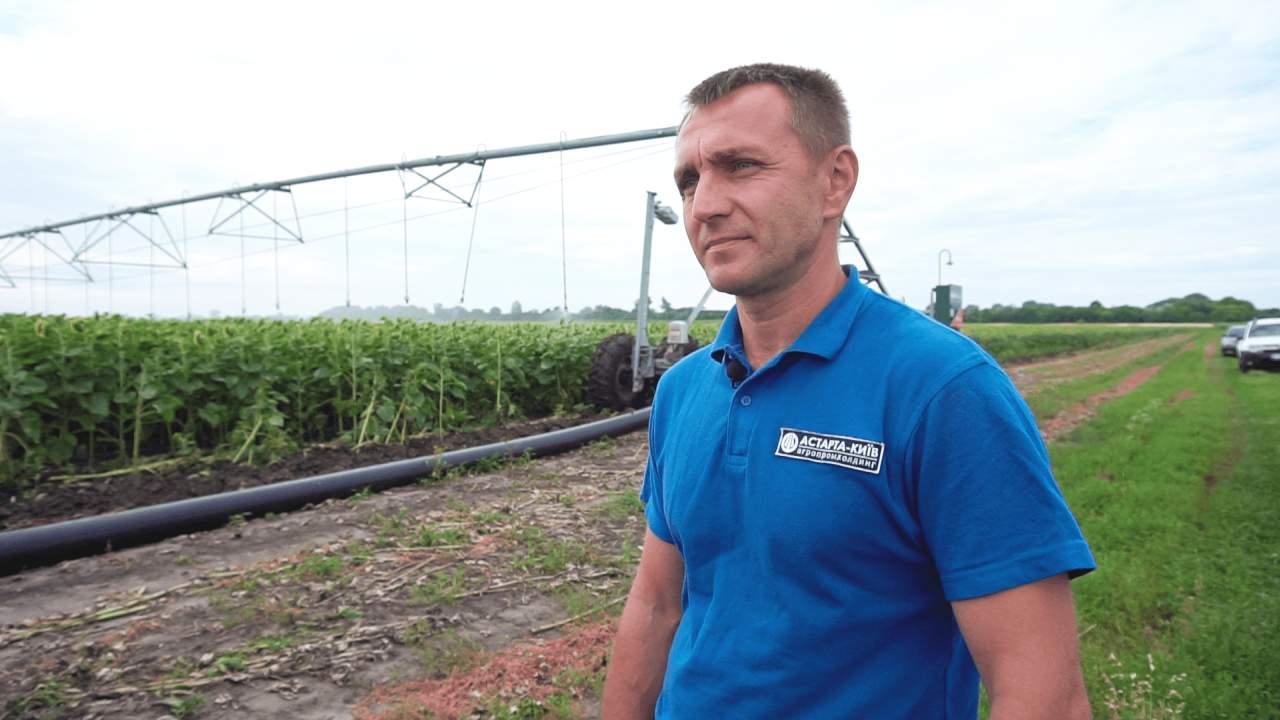 Керівник другого регіону агрофірми «Полтавазернопродукт» Сергій Черевик