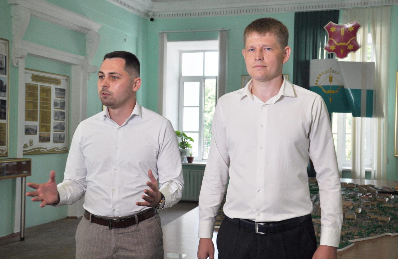Едуард Волков та Юрій Бражник