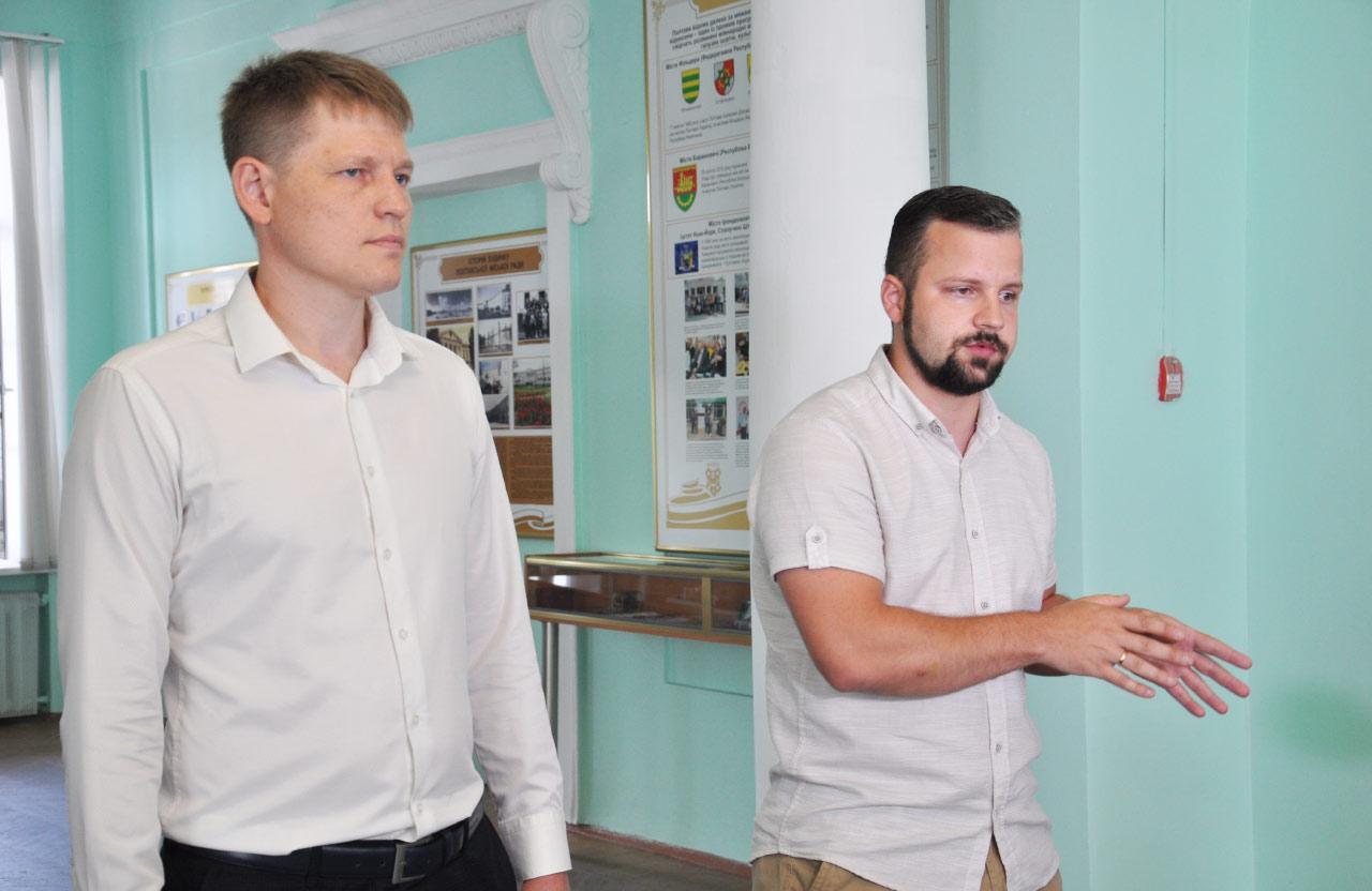 Юрій Бражник та Юліан Матвійчук
