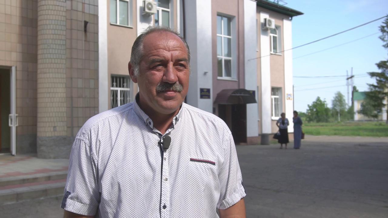 Голова Мачухівської громади Валерій Білокінь