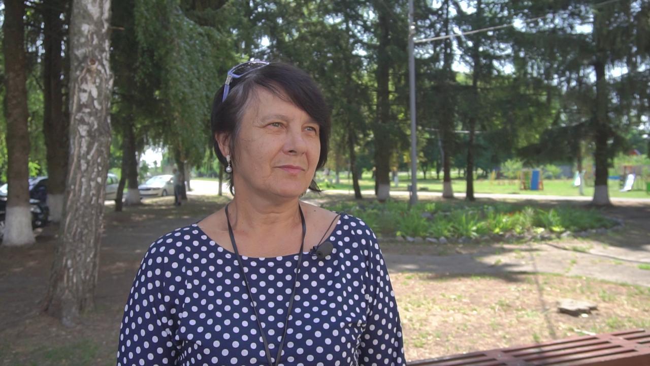 Староста села Судіївка Наталія Гудзенко
