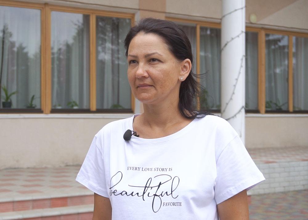 Медпрацівниця Яхниківської ЗОШ Таїсія Усенко