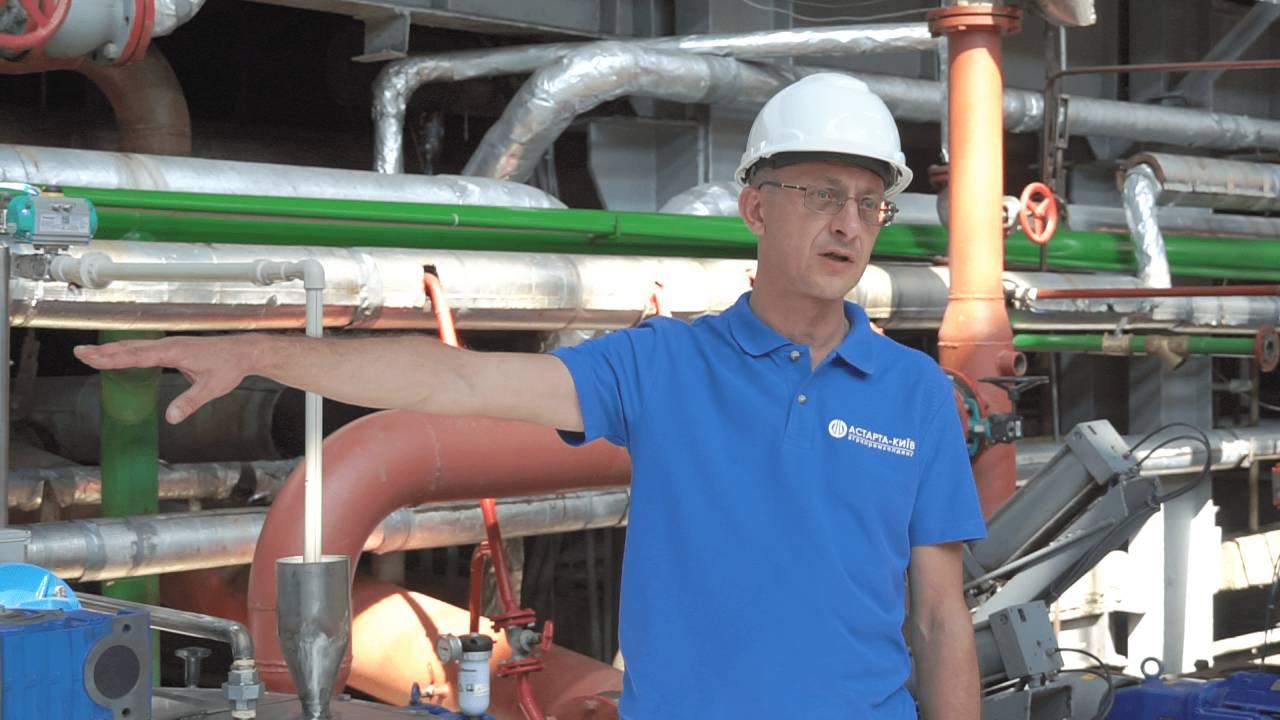 Технічний директор Новооржицького цукрового заводу Юрій Андреєв