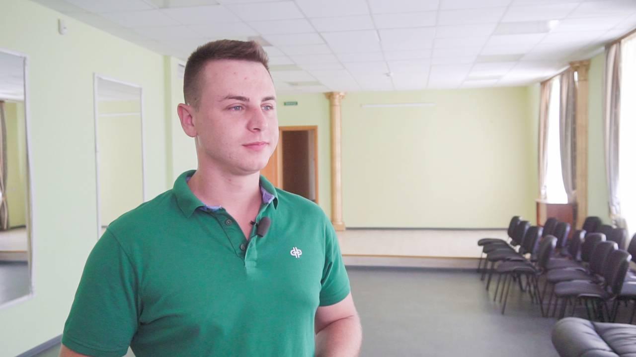 Директор Великосорочинського БК Юрій Кучеренко