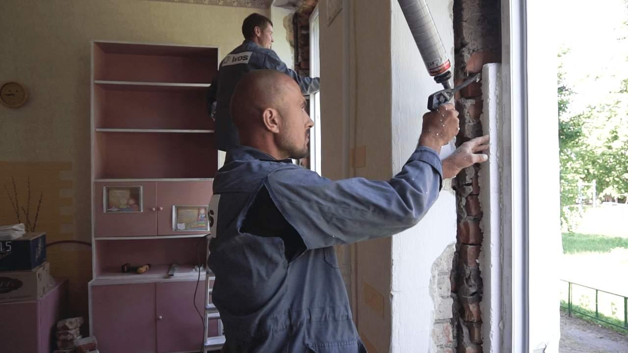 Агрофірма «Полтавазернопродукт» встановила в Обознівському НВК нові вікна та двері