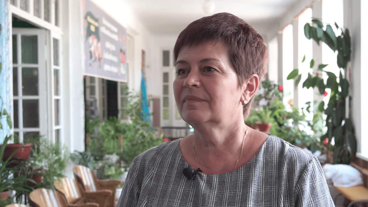 Директорка Обознівського НВК Олена Палієвиць