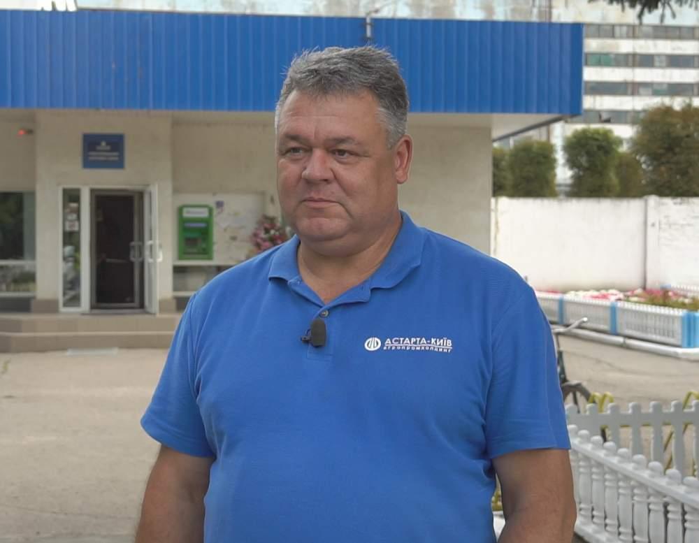 Директор Новооржицького цукрового заводу Павло Перхайло
