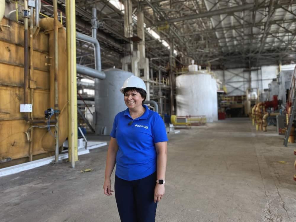 Начальниця відділу екології, охорони праці та сертифікації Ірина Андреєва