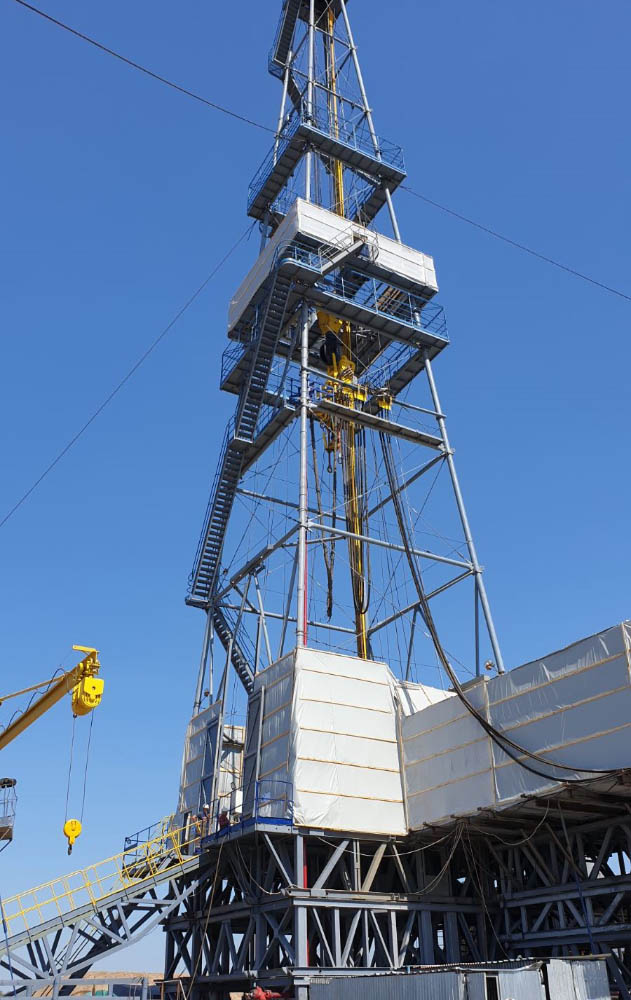 Завершення буріння та випробування свердловини очікуються в третьому кварталі 2022 року