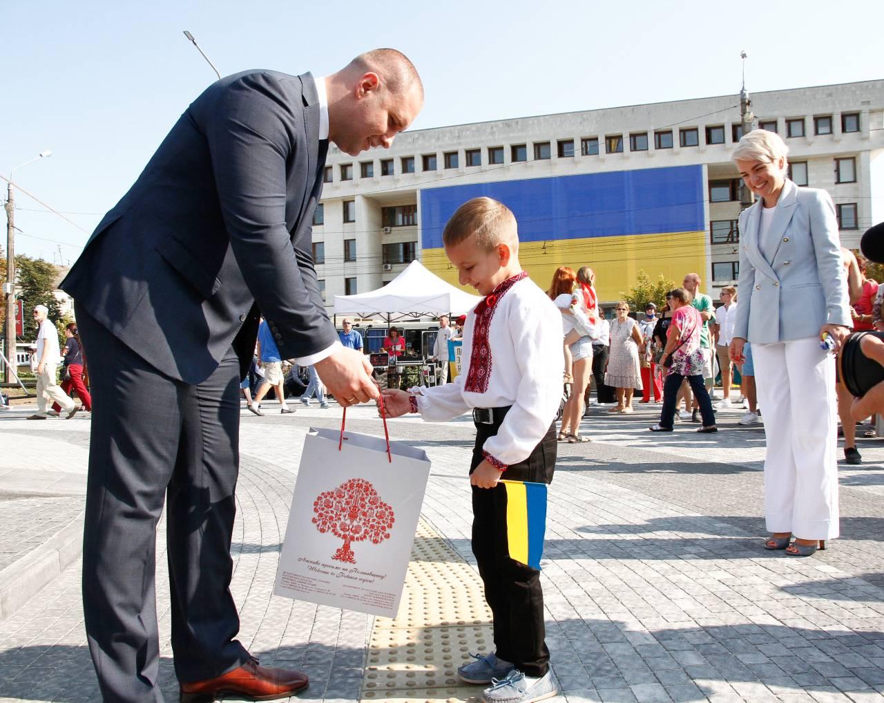 Син Андрія Конопльова, військового з Пирятина, який загинув в зоні проведення АТО