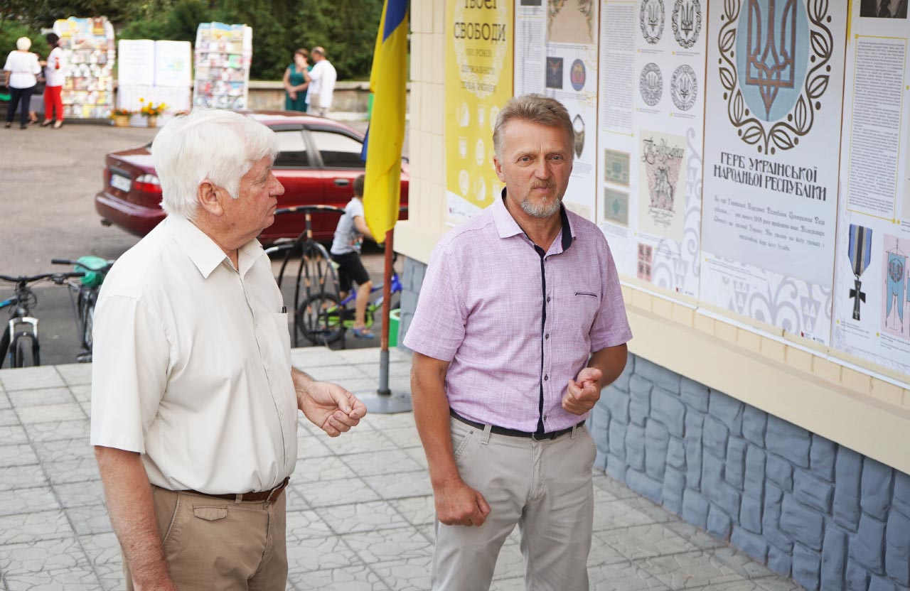 Сергій Максименко і Віктор Литус