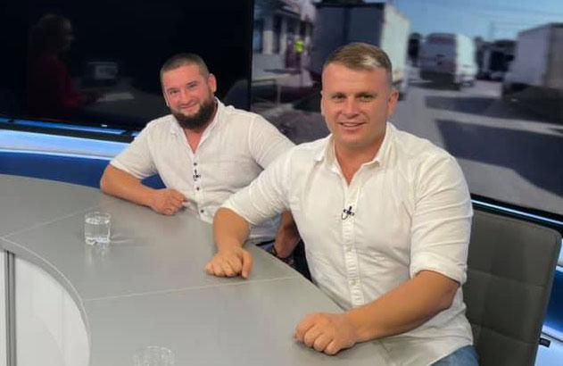 Максим Малько та Денис Поліщук