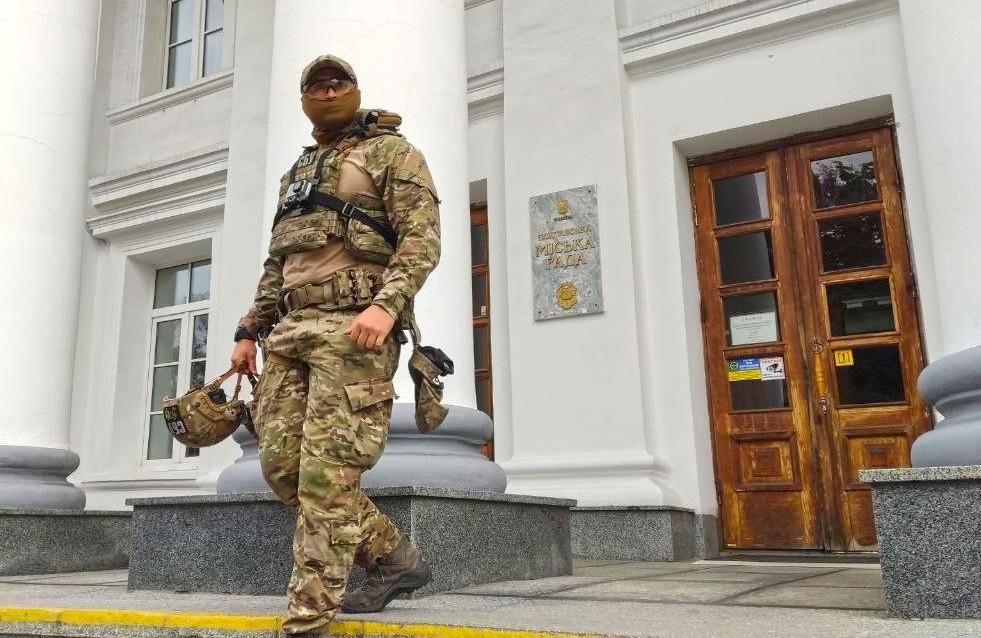 К Мамаю в Полтавский горсовет пришла с обысками СБУ