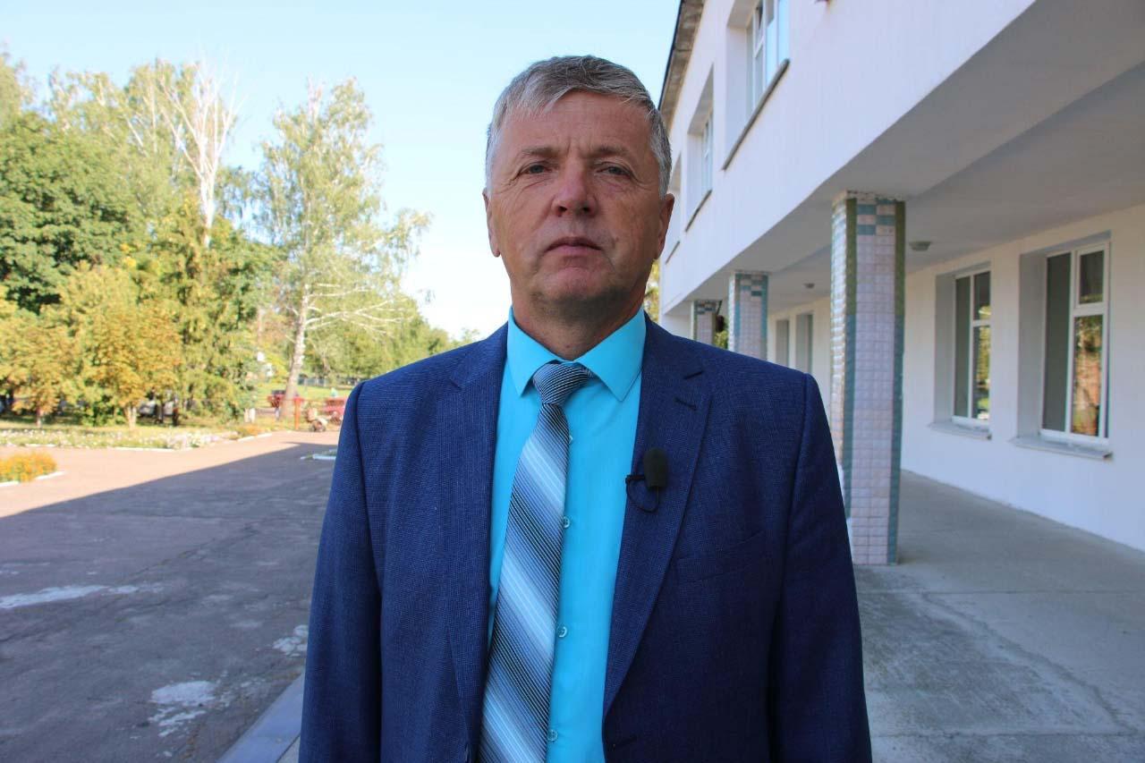 Староста села Піски Григорій Пройдак