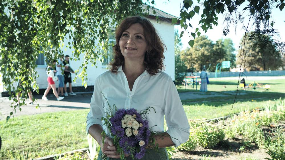 Мати інклюзивного першокласника Наталя Клочко
