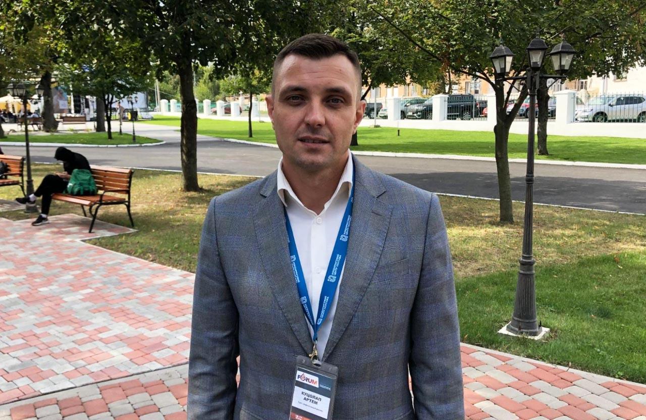 Керівник департаменту з геології та розробки родовищ ПрАТ «Нафтогазвидобування» ДТЕК Нафтогаз Артем Куцолап