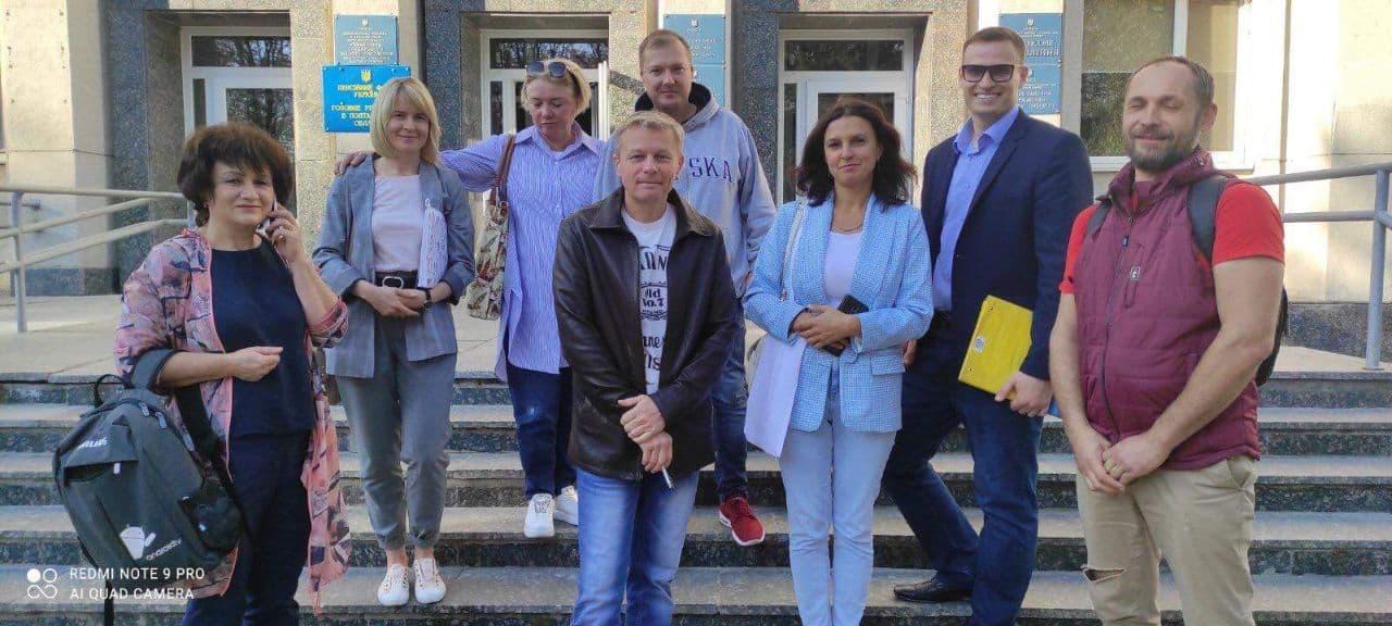 Зібрання членів Шевченківської ради голів ОСБ