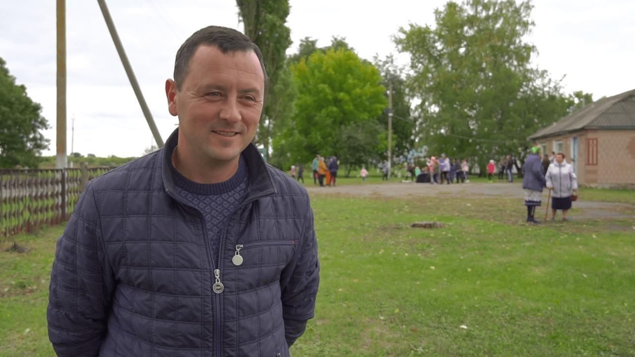 Голова Коломацької громади Євген Почечун