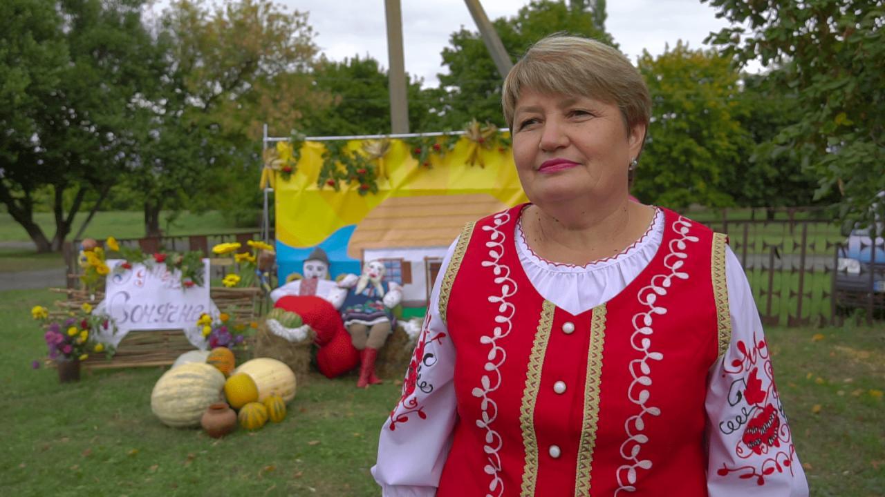 Завідуюча Сонячним сільським клубом Людмила Гетьман