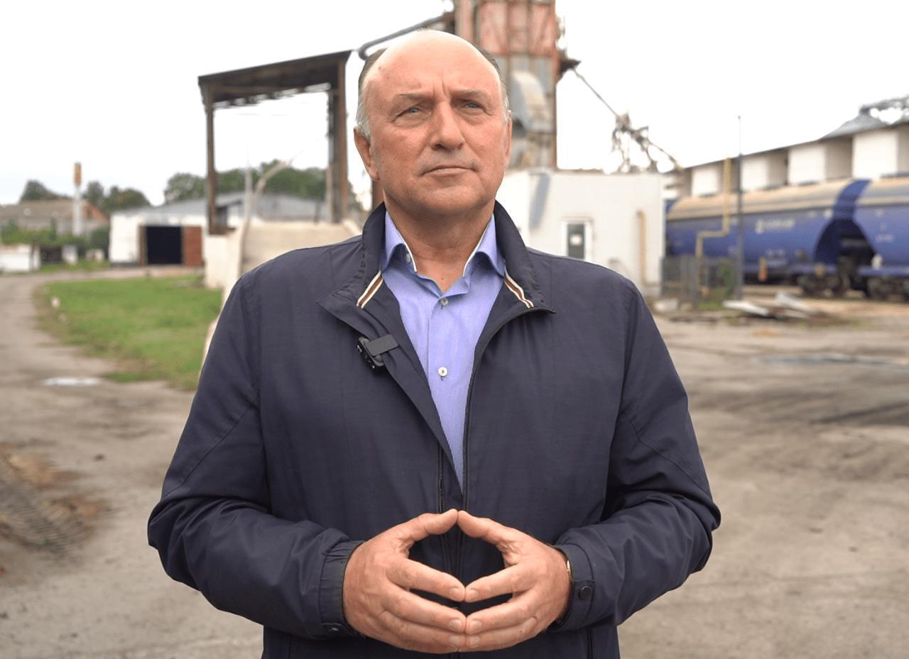 Заступник генерального директора АП «Полтавазернопродукт» Анатолій Таранушич