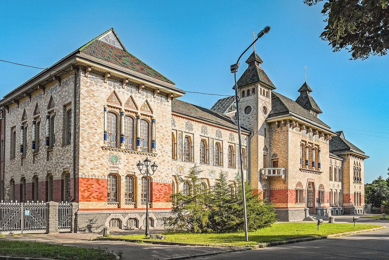 Будинок земства у національному стилі — нині будівля Полтавського краєзнавчого музею