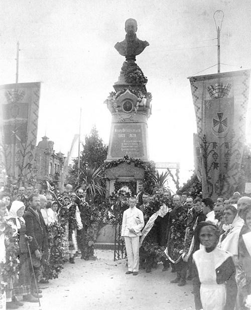 На відкритті пам'ятника Івану Котляревському. 1903 рік