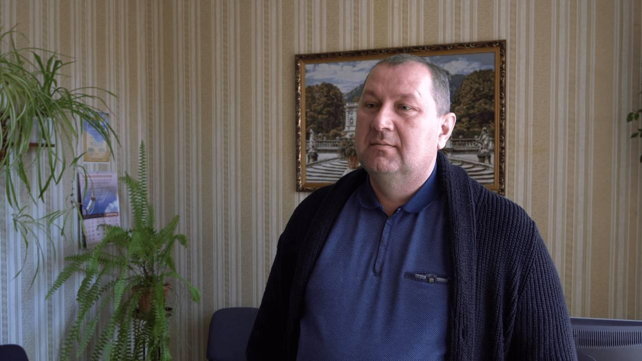 Директор Озерської ЗОШ Андрій Сопронюк