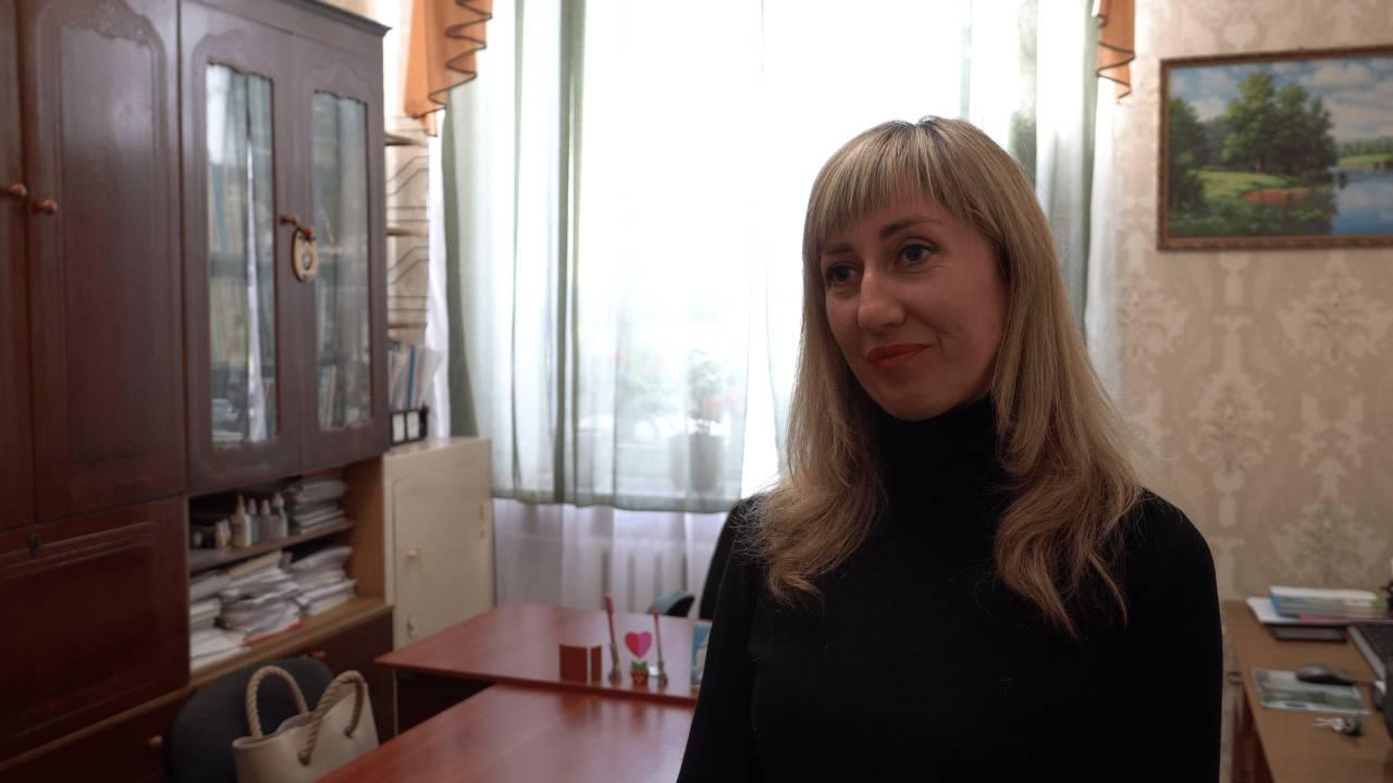 Директор Шенгурівської ЗОШ Тетяна Коваль